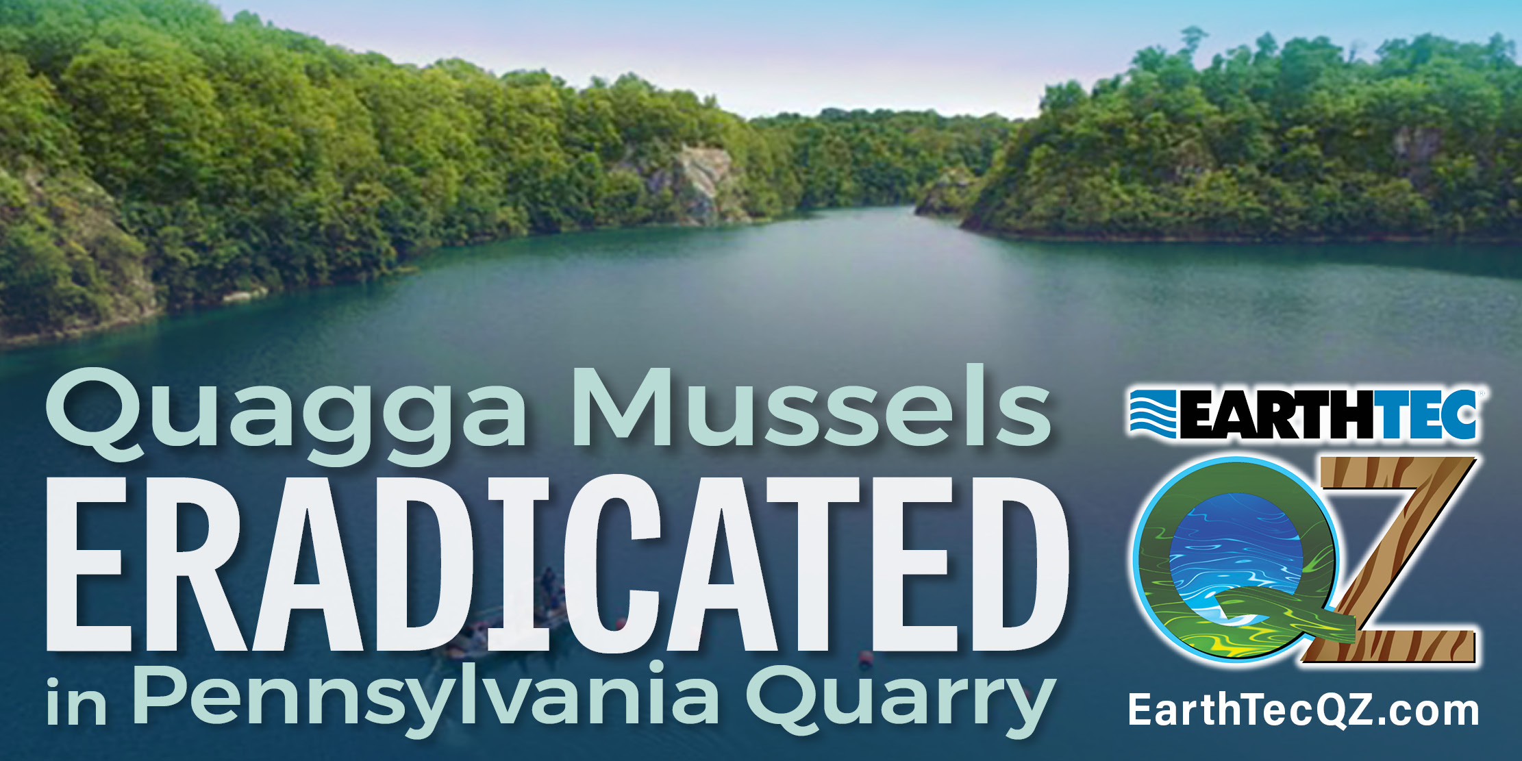 Quagga Mussel Eradication Confirmed in Historic Pennsylvania Lake